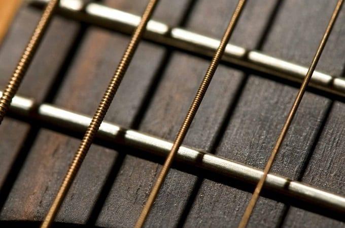 Four Guitar Strings